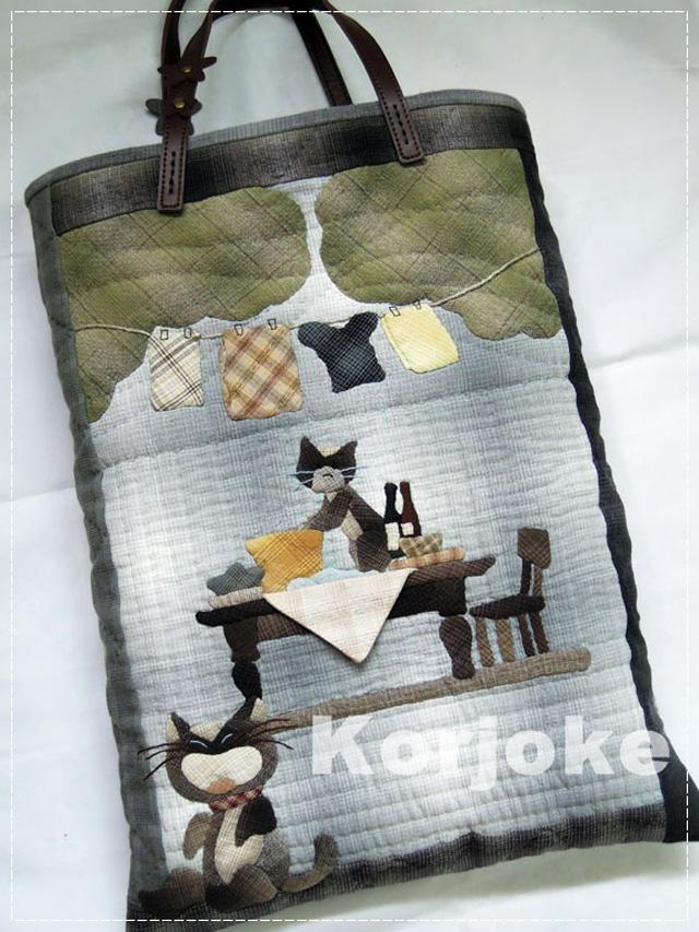 งานควิลท์ Akemi Kaida ผลิตโดย ป๊อบ สิทธิพงษ์ อารยางกูร